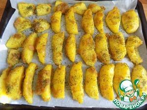Очень вкусный картофель Укроп