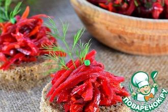 Рецепт: Овощная икра Борщевая