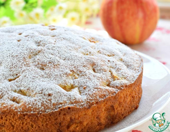 Рецепт: Необыкновенный яблочный пирог