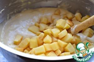 Необыкновенный яблочный пирог Яблоко