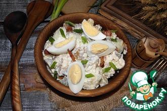 Рецепт: Салат из печеного картофеля