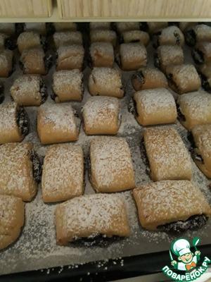 Песочное печенье с маком – кулинарный рецепт
