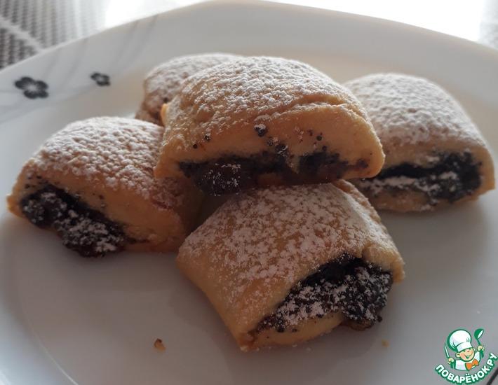 Рецепт: Песочное печенье с маком