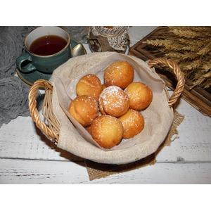 Быстрые пончики из рикотты