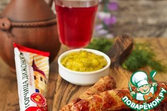 Рецепт: Домашние колбаски из индейки
