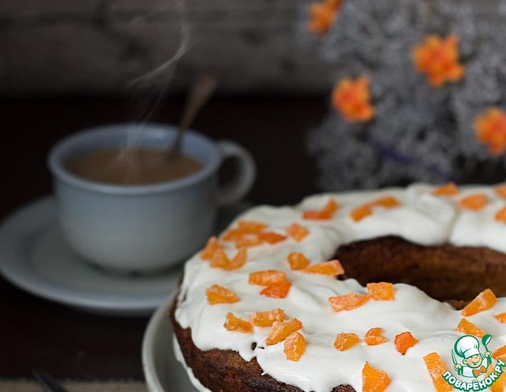 Морковный торт по-скандинавски
