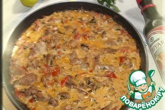 Рецепт: Сливочная свинина Топ-Хроно