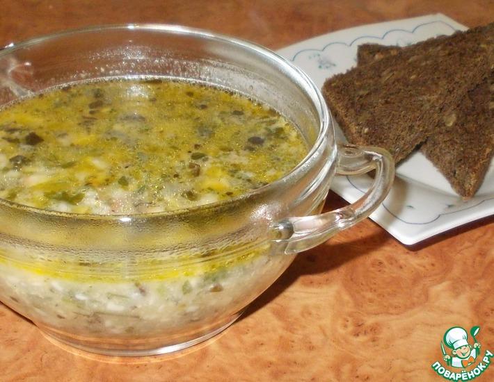Рецепт: Сырный суп из колбасного сыра
