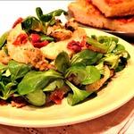 Весенний салат с молодым картофелем