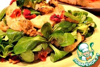 Рецепт: Весенний салат с молодым картофелем