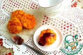 Рецепт: Морковное суфле с творогом
