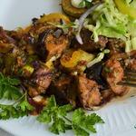 Жаркое со свининой и овощами