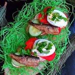 Бутерброды со шпротами Ностальгия