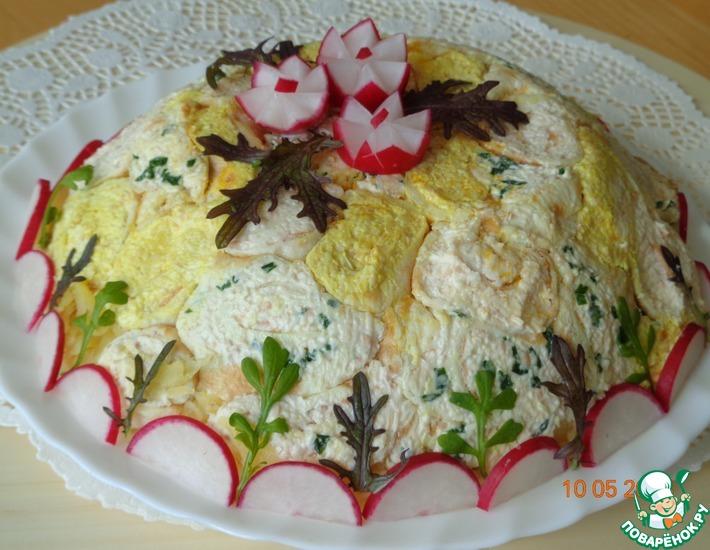 Рецепт: Салат Мирэль