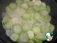 Кабачки в сметанном соусе ингредиенты