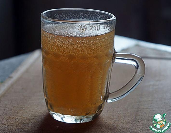 Рецепт: Квас из березового сока без дрожжей