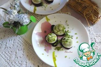 Рецепт: Крем-паштет из авокадо с творогом