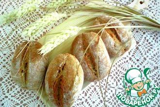 Рецепт: Булочки ржано-пшеничные