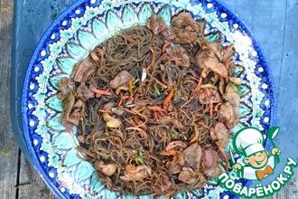 Рецепт: Три китайских блюда