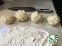 Картофельные оладьи с куриной начинкой Души ингредиенты