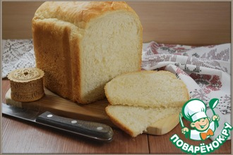 Рецепт: Белый хлеб «Идеал»