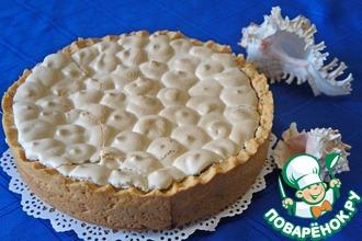 Рецепт: Цветаевский яблочный пирог с меренгой