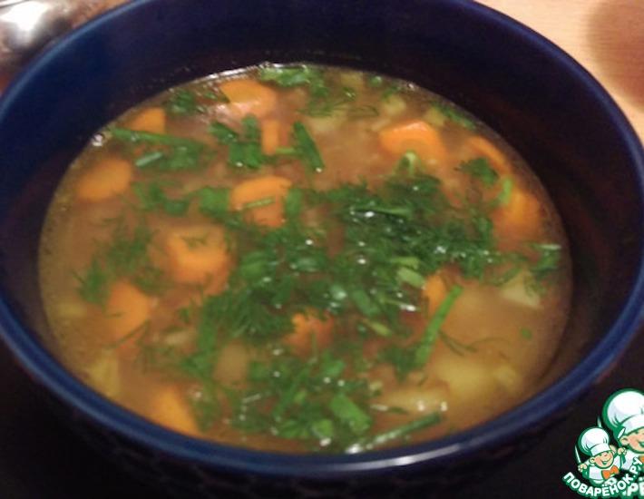 Рецепт: Суп гречневый
