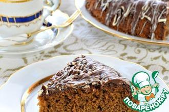 Рецепт: Пирог кофейный