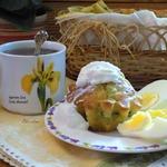 Кексы к завтраку из молодой капусты