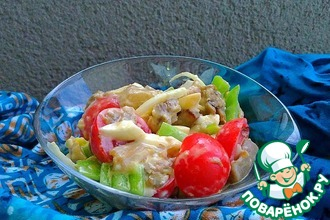 Рецепт: Баклажановый салат Восторг