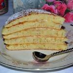 Быстрый торт на сковороде Пушинка