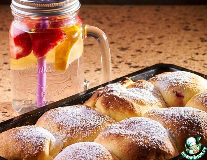 Рецепт: Сладкие булочки Бухти