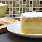 Ванильно-лимонный умный пирог