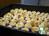 Шампиньоны, запеченные с сыром ингредиенты