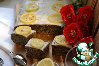 Рецепт: Маковый пирог с черносливом