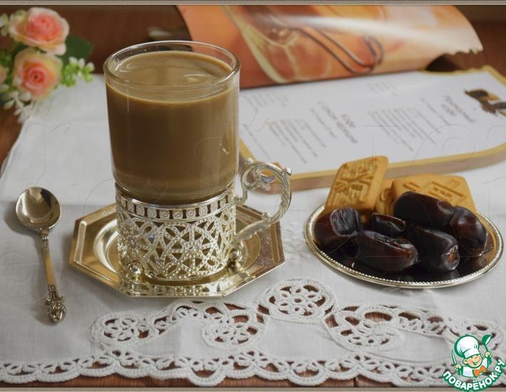 Рецепт: Мраморный кофе