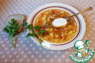 Рецепт: Суп с лечо