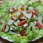 Салат с морепродуктами Голос моря