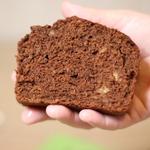 Банановый хлеб с какао