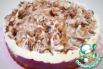 Рецепт: Шоколадно-вишневый торт