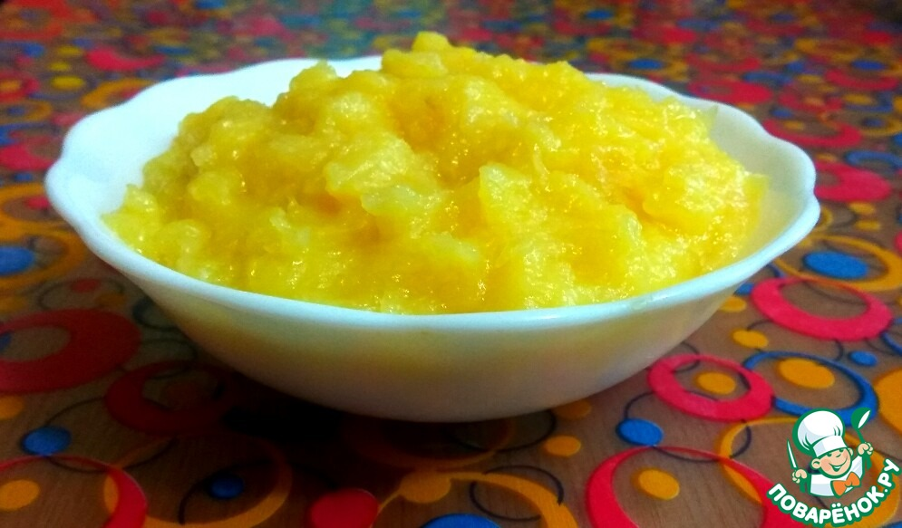 Лимонно-яблочный курд