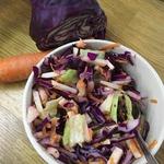 Нарядный овощной салат