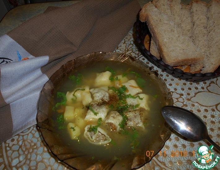 Рецепт: Бабушкин суп