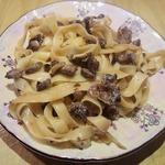 Паста с грибами 15 минут