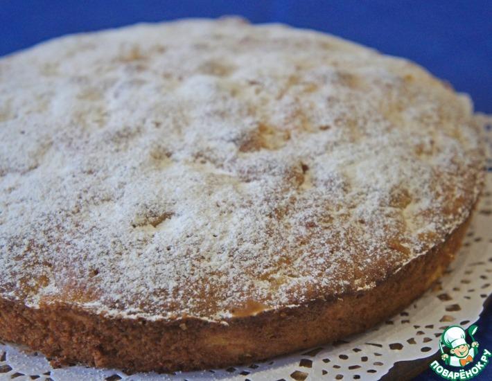 Рецепт: Пирог с консервированными ананасами