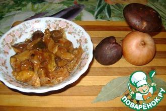 Рецепт: Грибы консервированные в томате