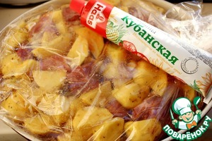 Обед в пакете для всей семьи Масло растительное