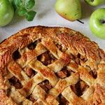 Яблочно-грушевая галета