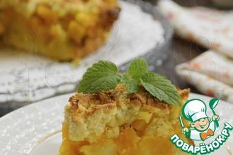 Рецепт: Тертый пирог Дуэт