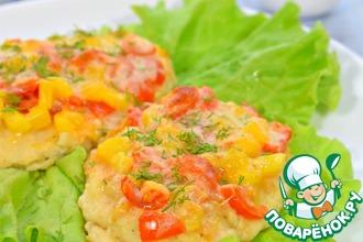 Рецепт: Филе куриное с овощами и сыром